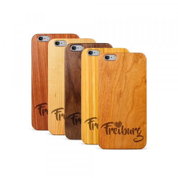 iPhone 6 & 6S Plus Hülle Love Freiburg aus Holz