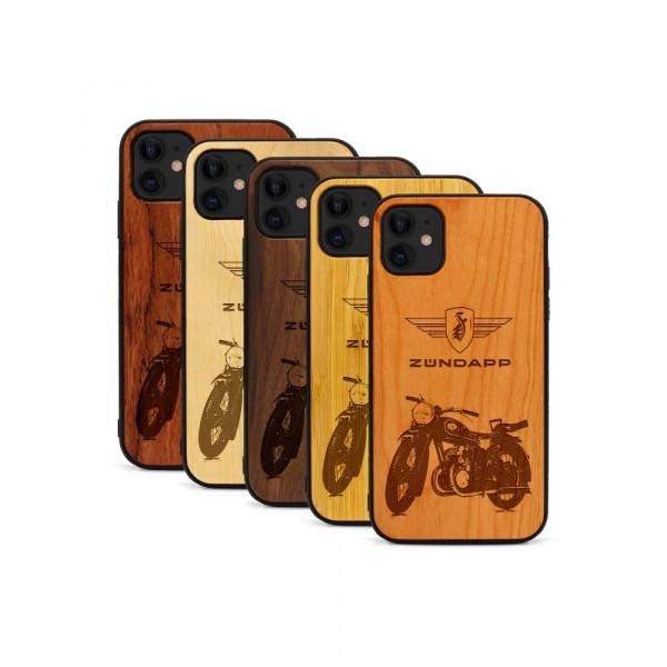 iPhone 11 Hülle Zündapp DB 200 aus Holz
