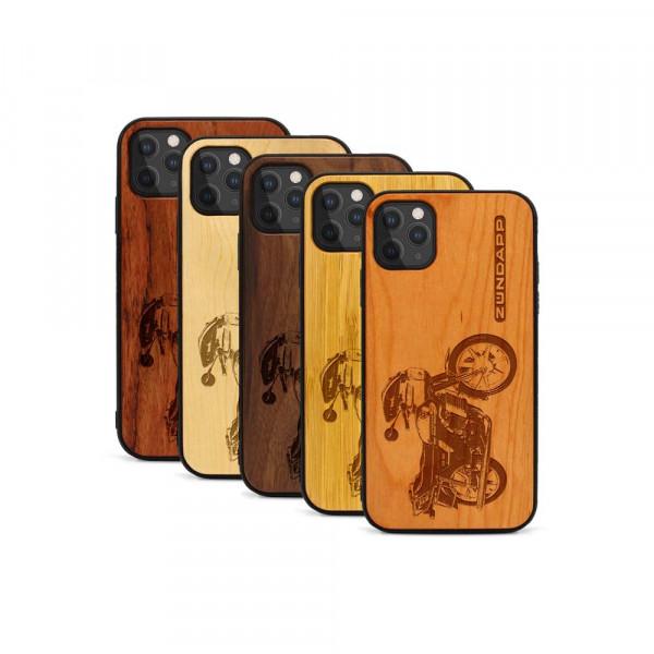 iPhone 11 Pro Hülle Zündapp KS 80 aus Holz