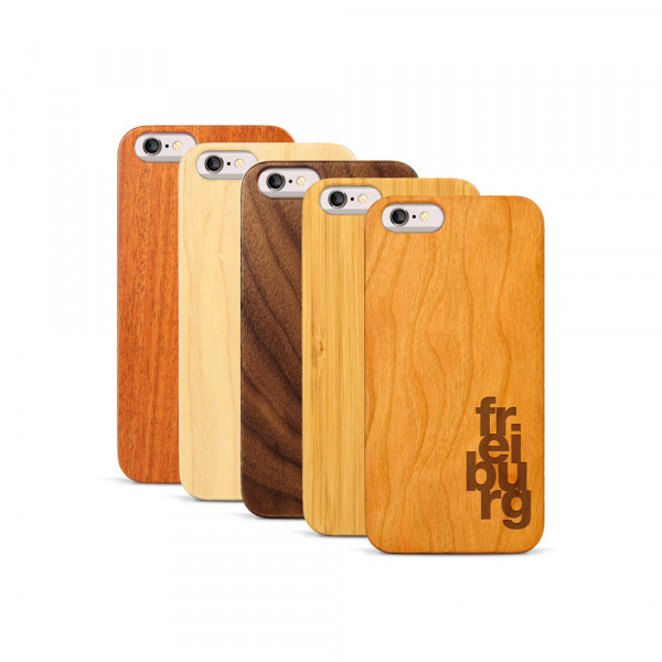 iPhone 6 & 6S Hülle fr ei bu rg aus Holz