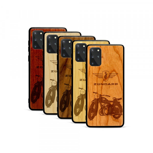 Galaxy S20+ Hülle Zündapp DB 200 aus Holz