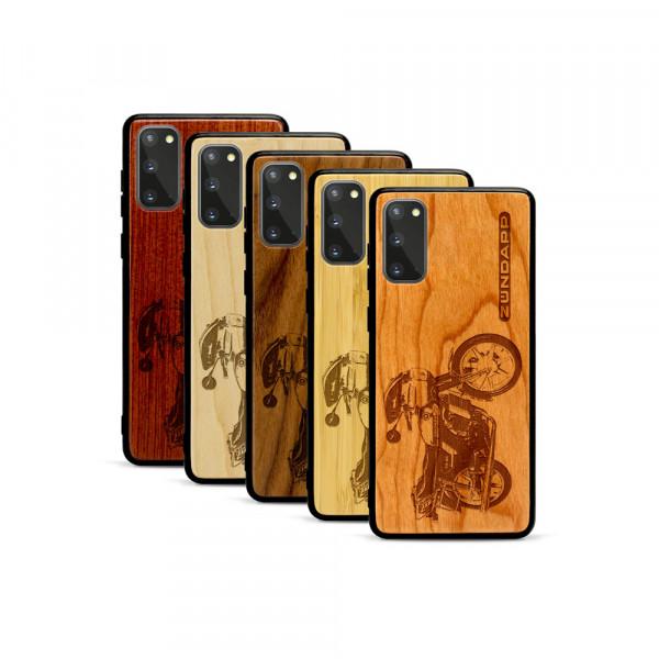 Galaxy S20 Hülle Zündapp KS 80 aus Holz