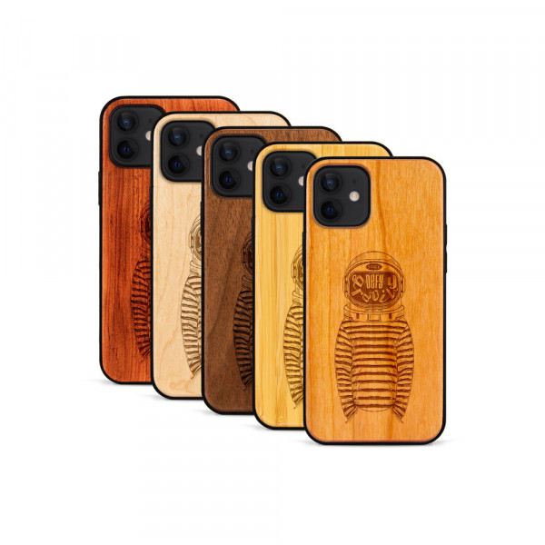 iPhone 12 Mini Hülle Defy Gravity aus Holz