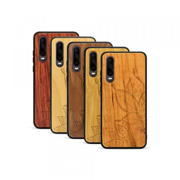 P30 Hülle Mandala aus Holz