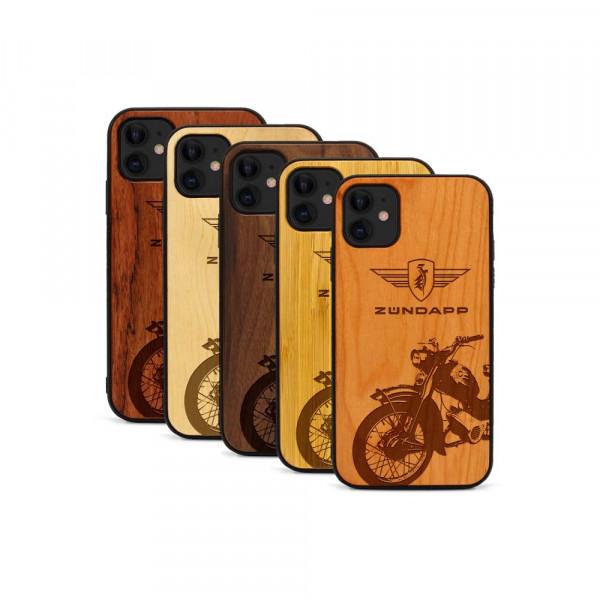 iPhone 11 Hülle Zündapp C 50 Super aus Holz
